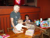 A first birthday party at Trail Dust Steak House