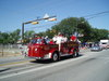 The Arlington City Council on Fire Engine #1 in Fourth of July Parade