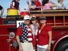 R. Steve McCollum and family in the Fourth of July Parade