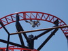 Tony Hawk's Big Spin rollercoaster at Six Flags Over Texas