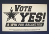 Historic campaign sign to bring the Dallas Cowboys to Arlington