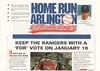 Historic campaign brochure to keep the Texas Rangers in Arlington