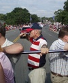 R. Steve McCollum in the Fourth of July Parade